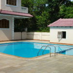 Pool of the Parra villa for rent rent close to Baga and Calangute