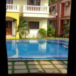 View from Living Room of Arpora 3 BR Villa for rent in Goa