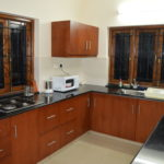 View of the kitchen of the 3 BR villa at Arpora