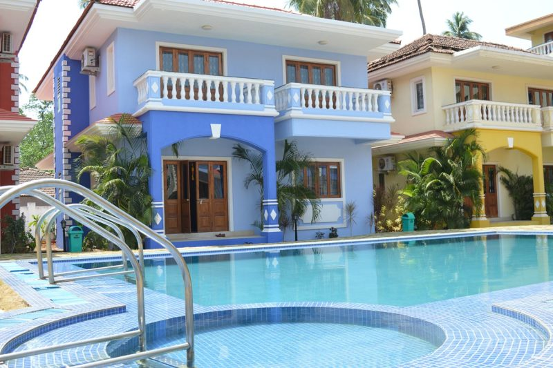 Exteriors view of 3 BR Villa for rent in Goa