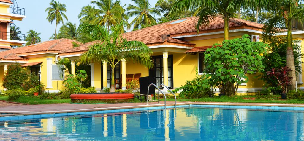 Vagator villa for rent in Goa