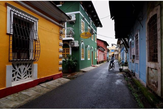 Fontainhas Heritage Walk - Image Courtesy Source