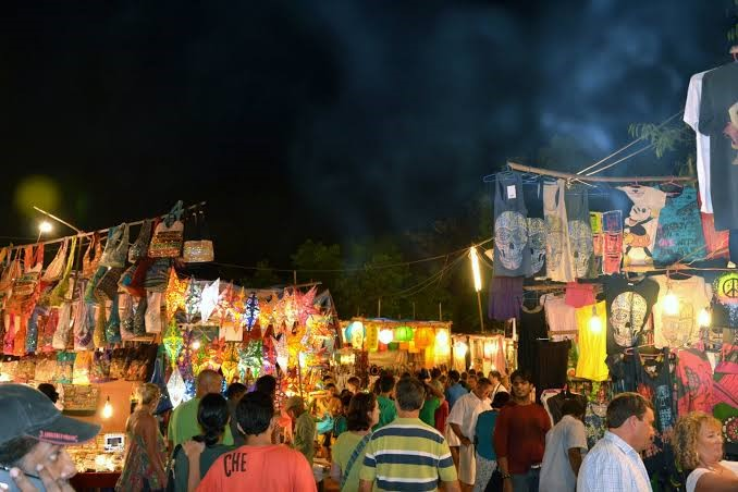 Saturday Night Market at Arpora
