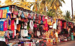 Wednesday Flea Market in Anjuna