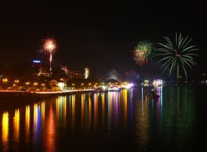 Christmas Fireworks in Goa. Image Source indianholiday
